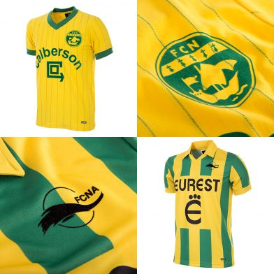 558381c1e ... the official FC Nantes fanstores and via selected retailers and online  resellers. All the retro items are packaged and dispatched in luxury gift  boxes.